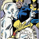 Kind of looks like iceman punched Scott