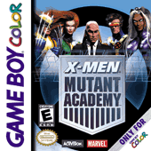 X-Men Mutant Academy Game Boy Color