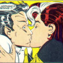 Rogue's First Real Kiss?