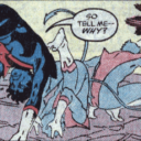 Nightcrawler faces off against Pac-Man Ape