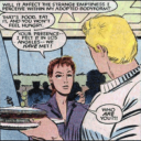 Rachel Summers teaches the Beyonder how to eat