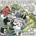 Magneto eating lunch with X-Men?!