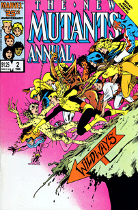 The New Mutants Annual 2